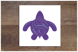 Tribal Sea Turtles -  Accent Tile Border