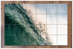 Wave Lip -  Tile Mural