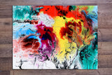 Multi-Color Abstract Painting 01 -  Tile Mural