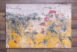 Concrete Paint Abstract -  Tile Mural