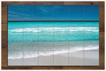 Beach Front Blue Horizon -  Tile Mural