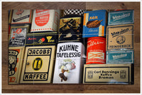 Vintage Coffee Tins - Ceramic Tile Mural