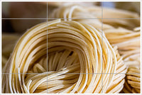 Dried Pasta - Ceramic Tile Mural