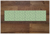 Modern Leaf Pattern 01 - Ceramic Tile Border