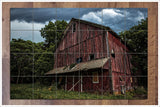 Old Red Barn -  Tile Mural