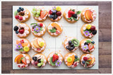 Bakery Pastries with Fruit -  Tile Mural