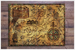 Pirate Map 02 - Ceramic Tile Mural