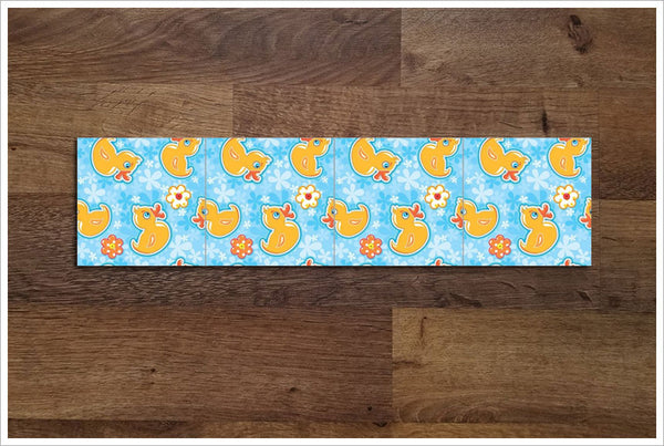 Rubber Ducky - Ceramic Tile Border