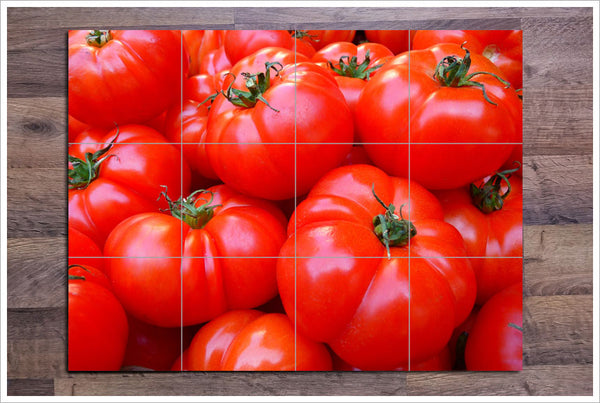 Tomatoes - Ceramic Tile Mural