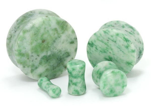 Green Marble Plugs
