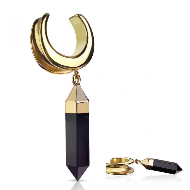 Saddle Spreader with Onyx Dangle