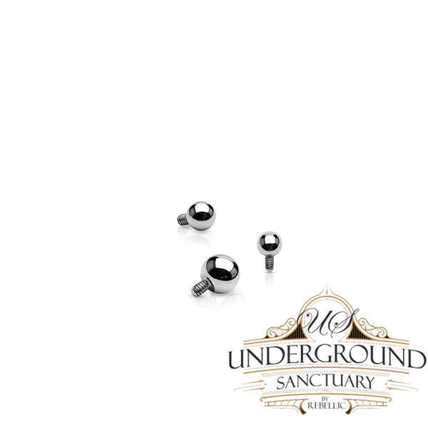14g Internally Threaded Titanium Ball