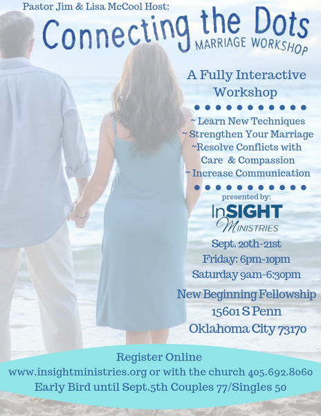 Connecting the Dots Marriage Workshop Sept. 20th-21st 2019