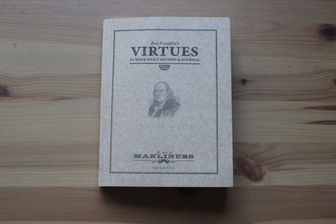 New Franklin Virtue Journal Refill