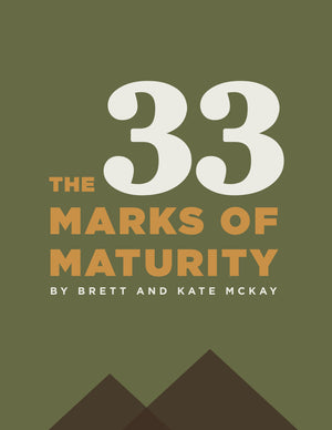 The 33 Marks of Maturity eBook