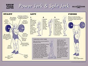 Know Your Lifts: Power Jerk and Split Jerk