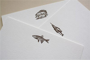 Men's Stationery: Catch, Trout, Bass