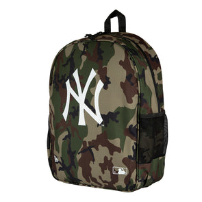 New Era Men's MLB New York Yankees Essential Pack Woodland Camo Backpack