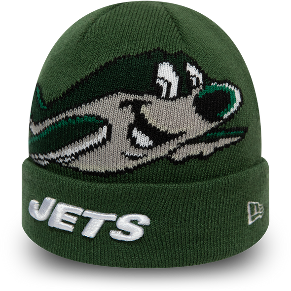 New Era NFL Kids Infant New York Jets Mascot Cuff Green Knit