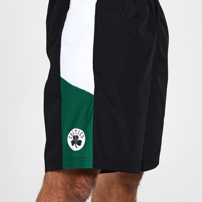 New Era NBA Print Side Panel Boston Celtics Shorts