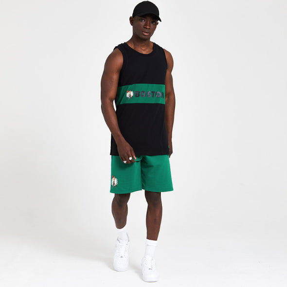 New Era NBA Boston Celtics Green Colour Block Vest
