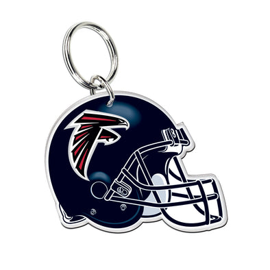 Acrylic Key Ring NFL Helmet Atlanta Falcons