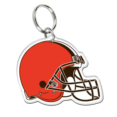 Acrylic Key Ring NFL Helmet Cleveland Browns