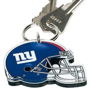 Acrylic Key Ring NFL Helmet New York Giants
