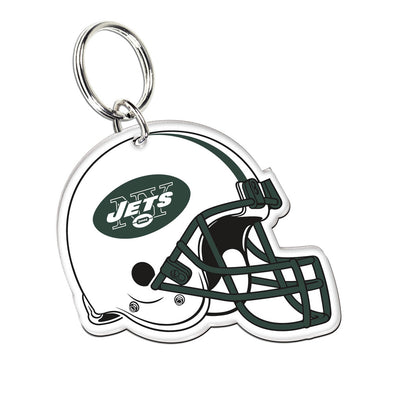 Acrylic Key Ring NFL Helmet New York Jets
