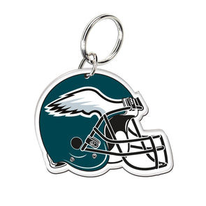 Acrylic Key Ring NFL Helmet Philadelphia Eagles