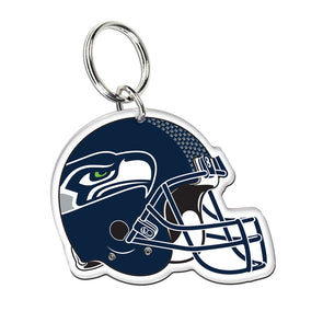 Acrylic Key Ring NFL Helmet Seattle Seahawks