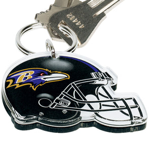 Acrylic Key Ring NFL Helmet Baltimore Ravens