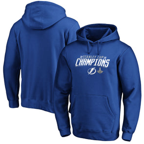 Tampa Bay Lightning Fanatics Branded 2020 Stanley Cup Champions Locker Room Hoodie