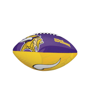 Wilson NFL Team Logo Junior Size Football Minnesota Vikings