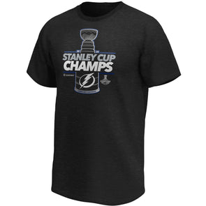 2020 Stanley Cup Champions Tampa Bay Lightning Laser Shot Locker Room T-Shirt