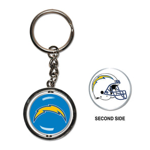 NFL Spinner Keyring Los Angeles Chargers