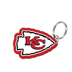 Acrylic Key Ring NFL Logo Kansas City Chiefs