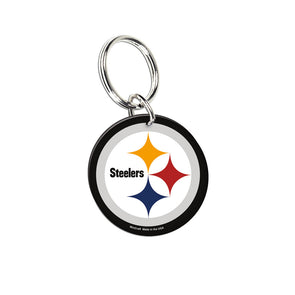 Acrylic Key Ring NFL Logo Pittsburgh Steelers