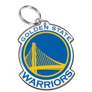 Acrylic Key Ring NBA Logo Golden State Warriors