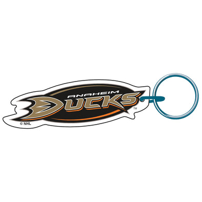 Acrylic Key Ring MLB Logo Anaheim Ducks