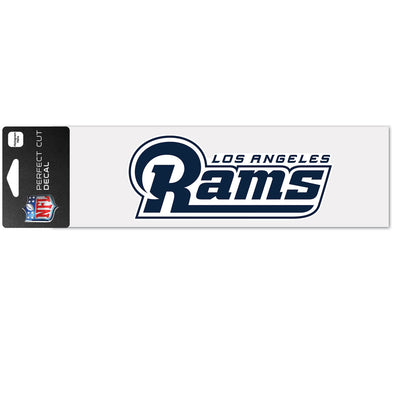 "Los Angeles Rams WinCraft 3"" x 10"" Team Perfect Cut Decal"