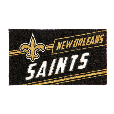 NFL Coir Punch Door Mat New Orleans Saints