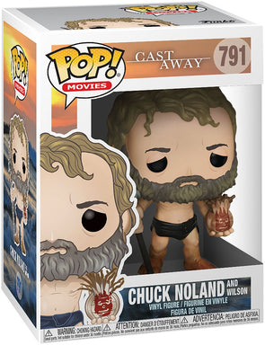 Funko POP! Movies Castaway Chuck Noland and Wilson Limited Edtion Vinyl Figure