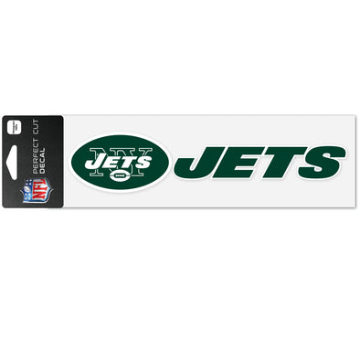 "New York Jets WinCraft 3"" x 10"" Team Perfect Cut Decal"