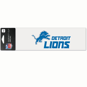 "Detroit Lions WinCraft 3"" x 10"" Team Perfect Cut Decal"