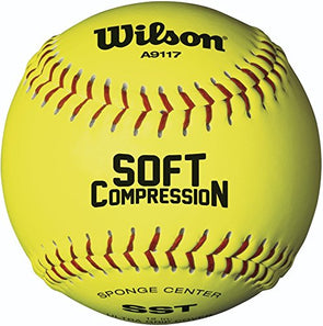 Wilson A9117 Soft Compression Softball Baseball
