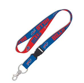 "Buffalo Bills 1"" NFL Lanyard w/ Detachable Buckle"
