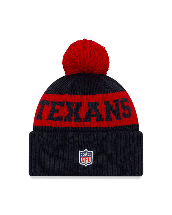 New Era NFL Sideline 2020 Houston Texans On Field Sport Knit