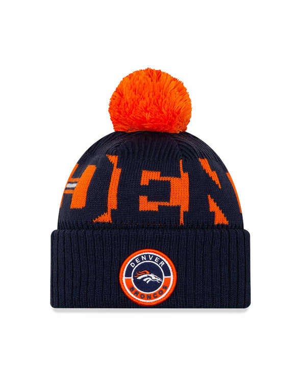 New Era NFL Sideline 2020 Denver Broncos On Field Sport Knit