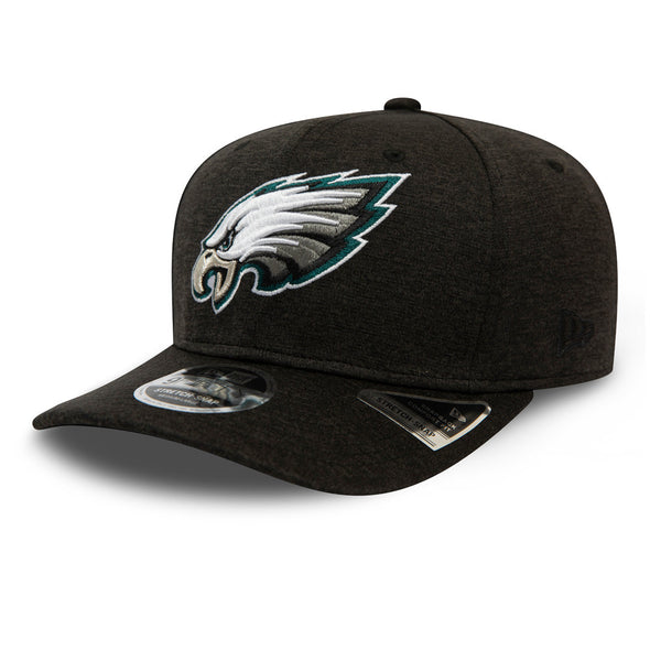 Philadelphia Eagles Shadow Tech Black 9FIFTY Stretch Snap Cap